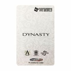 """Limited"" Discontinued DARTSLIVE card THE WORLD DYNASTY"