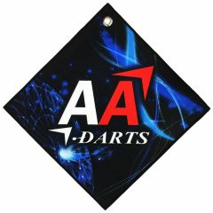 """BIKA Design"" AA darts Original Darts Towel Vol.2 Blue"