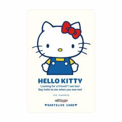 """Limited"" Sanrio Characters DARTSLIVE card - Hello Kitty White 02"