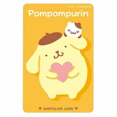 """Limited"" Sanrio Characters DARTSLIVE card - Pompompurin"