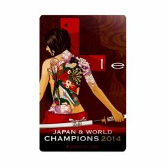 """Limited""  L-style DARTSLIVE Card (Japan & world champions 2014)"