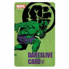 """Limited"" MARVEL HEROS DARTSLIVE CARD ④"