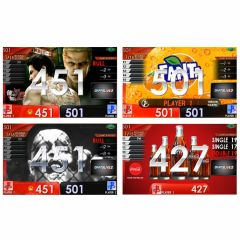 """Limited"" Fanta + coca-cola APP & Ryu-ga-gotoku kiwami2 & zombie movie Themes DARTSLIVE card"