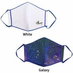 """COSMO DARTS"" Mask [White/Galaxy]"