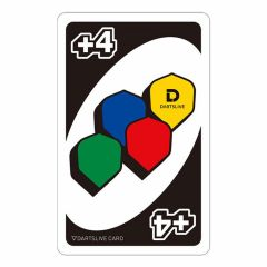 """Card"" DARTSLIVE CARD #044-17"