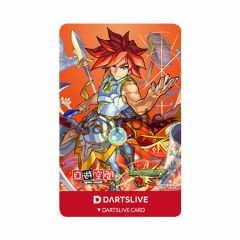 """Limited"" DARTSLIVE CARD Monster Strike Excalibur"