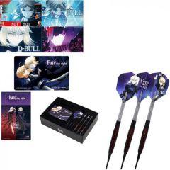 """""""DARTSLIVE"""" Fate Stay Night Darts Set - Tungsten Darts """"Saber / Saber Altar"""" [2BA]  【Goes on sale Nov. 5th 21:30~(TW, HK, SG time)】"""