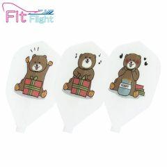 """""""Fit Flight"""" DCRAFT 熊 (Bear) [Shape]"""