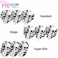 """Fit Flight"" COSMO DARTS Printed Series Skull [Standard/Shape/Super Slim]"