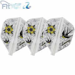 """Fit Flight AIR"" COSMO DARTS Design Contest FREEDOM&PEACE [Shape]"