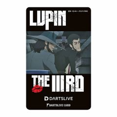 """Limited"" DARTSLIVE Card LUPIN THE IIIRD 峰不二子の嘘 魯邦&次元"