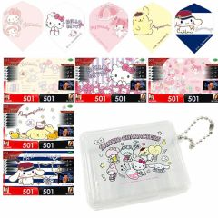"""Dartslive"" Sanrio Characters flight in case & DARTSLIVE theme"