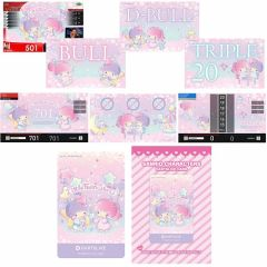 """Limited"" Sanrio characters DARTSLIVE Theme&LIVE Effect Little Twin Stars"