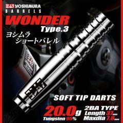 """""""Yoshimura"""" WONDER Type3 [2BA]"""