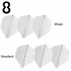 """""""8 FLIGHT"""" Clear [Standard/Shape]"""