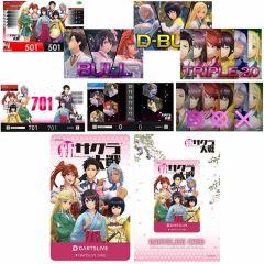 """""""Limited"""" DARTSLIVE Card 新櫻花大戰 Project Sakura Wars 帝国華撃団Ver."""