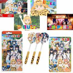 """Limited"" ""Dartslive"" 動物朋友2 darts set 「Friends Ver.」[2BA]"