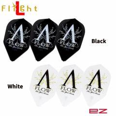 """Flight-L"" EZ DYNASTY A-FLOW Logo [Black/White]"