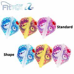 """Fit Flight AIR"" Printed Series Puffer Fish [Standard/Shape]"