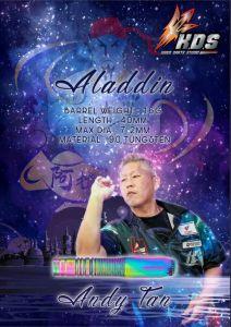 """K.D.S"" K Series - Aladdin (阿拉丁) Andy Tan Model [2BA]"