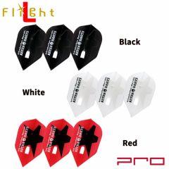 """""""Flight-L"""" PRO DYNASTY ASTRA STAR Logo [Black/White/Red]"""