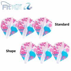 """""""Fit Flight AIR"""" Printed Series Bloom [Standard/Shape]"""