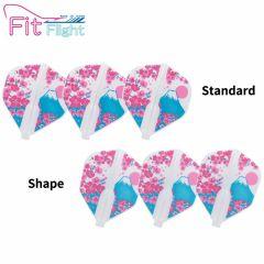 """""""Fit Flight"""" Printed Series Bloom [Standard/Shape]"""