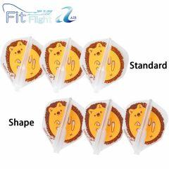 """""""Fit Flight AIR"""" Printed Series Hedgehog [Standard/Shape]"""