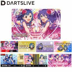 """""""Limited"""" DARTSLIVE Card THE IDOLM@STER MILLION LIVE! 偶像大師 百萬人演唱會!「Love it!」"""