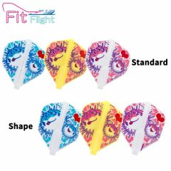 """Fit Flight"" Printed Series Puffer Fish [Standard/Shape]"