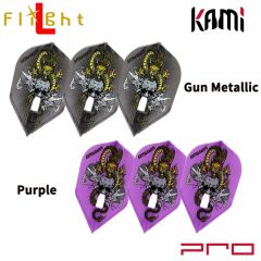 """""""Flight-L"""" DYNASTY PRO KAMI RYUKI ver.2 森窪龍己 (Ryuki Morikubo) Model [Gun Metallic/Purple]"""
