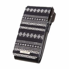 """Cameo"" SKINNY LIGHT JACQUARD case-Black"