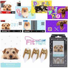 """""""DARTSLIVE"""" Fit Flight Special Pack CARD [Dog(狗)]"""