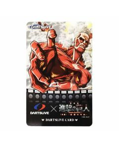 """Limited"" Discontinued DARTSLIVE card Attack on titan"