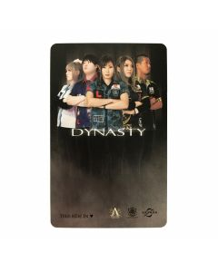 """Limited"" Discontinued DARTSLIVE card DYNASTY CARD-1"
