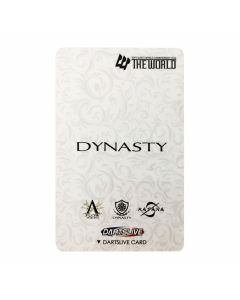 """Limited"" Discontinued DARTSLIVE card DYNASTY CARD-2"