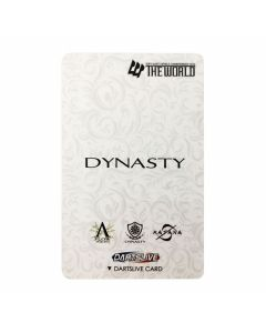 """""""Limited"""" Discontinued DARTSLIVE card THE WORLD DYNASTY"""
