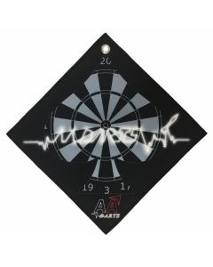"""BIKA Design"" AA darts Original Darts Towel Vol.1 Black"