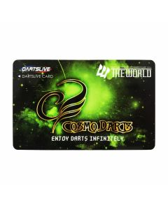 """""""Limited"""" Discontinued DARTSLIVE card THE WORLD Cosmo Darts"""