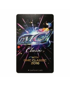 """Limited"" Discontinued DARTSLIVE card DMC 2016-1"
