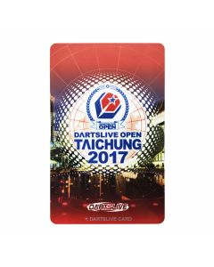 """Limited"" Discontinued DARTSLIVE card OPEN TAICHUNG 2017-1"
