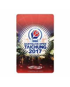 """""""Limited"""" Discontinued DARTSLIVE card OPEN TAICHUNG 2017-1"""
