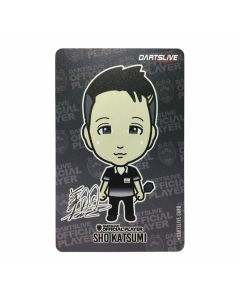 """Limited"" Discontinued DARTSLIVE card SHO-1"