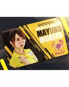 """Card"" ""Monster"" 森田真結子(Mayuko Morita) DARTSLIVE card 2019 SEASON1"