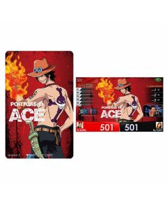 """Limited"" One Piece DARTSLIVE card 2019 - Ace"