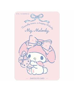 """Limited"" Sanrio Characters DARTSLIVE card - My Melody"