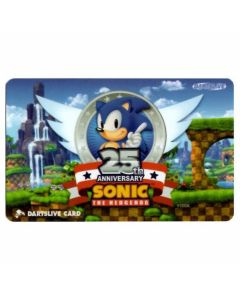 """""""Limited"""" Discontinued DARTSLIVE card Sonic 25th anniversaly"""