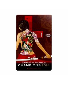 """""""Limited""""  L-style DARTSLIVE Card (Japan & world champions 2014)"""