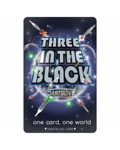 """""""Limited"""" Discontinued DARTSLIVE card #20-05"""