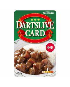 """Limited"" Discontinued DARTSLIVE card #31-14"